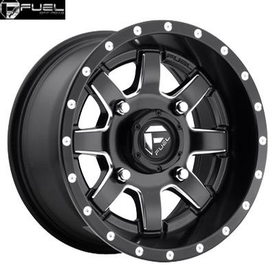 Fuel Off Road D538 Maverick Matte Black Milled - UTV