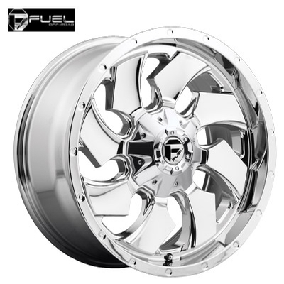 Fuel Off Road D573 Cleaver Chrome