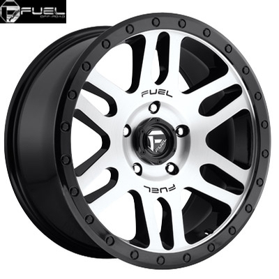 Fuel Off Road D585 Recoil Machined Gloss Blk