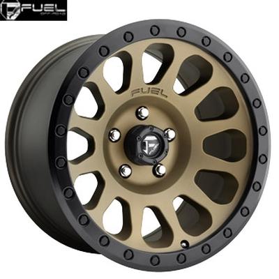 Fuel Off Road D600 Vector Bronze w/Black Lip