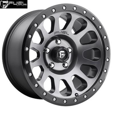 Fuel Off Road D601 Vector Matte Gunmetal w/Black Lip