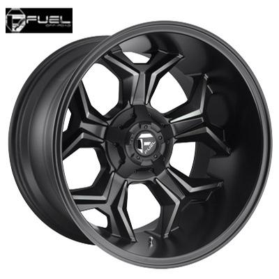 Fuel Off Road D605 Avenger Matte Blk w/Dark Tint