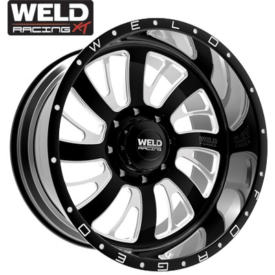 Weld XT Falkata 8 Gloss Black Milled