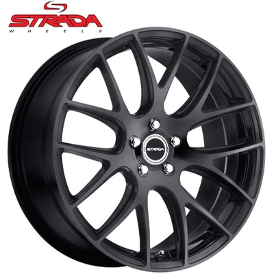 Strada Wheels Fuso Gloss Black