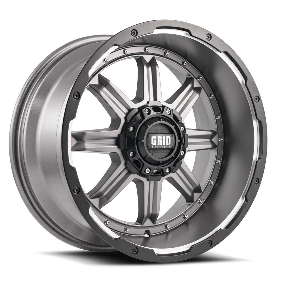 GRID Off Road GD 10 Matte Anthracite