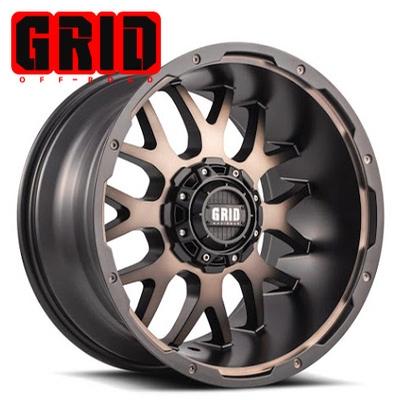 GRID Off Road GD 2 Matte Bronze-Black