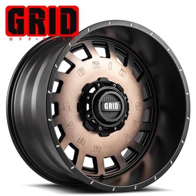 GRID Off Road GD 3 Bronze Black