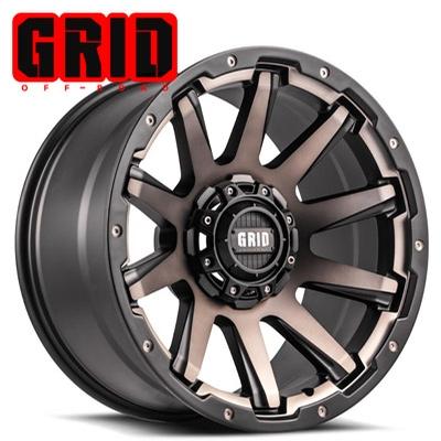 GRID Off Road GD 5 Bronze Black