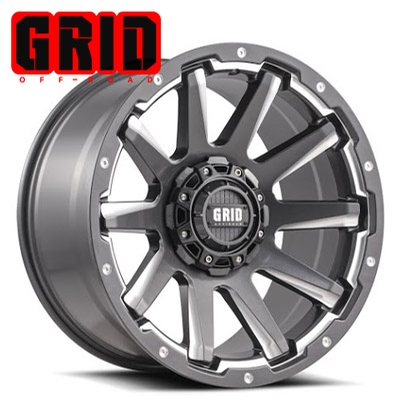 GRID Off Road GD 05 Gloss Graphite-Milled