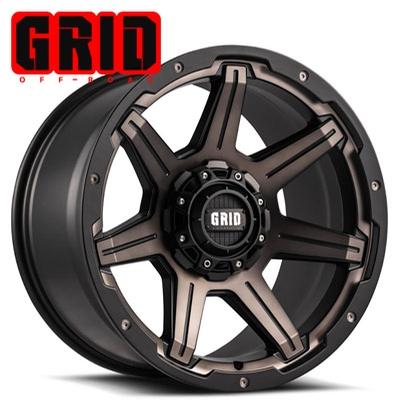 GRID Off Road GD 6 Bronze Black