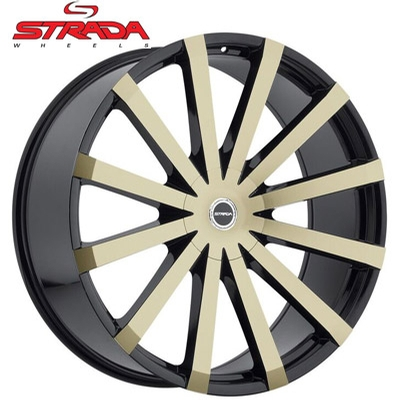 Strada Wheels Gabbia Bronze Black