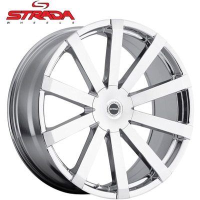 Strada Wheels Gabbia Chrome