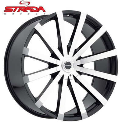Strada Wheels Gabbia Machined
