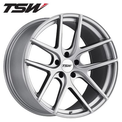 TSW Geneva RF Matte Titanium Silver
