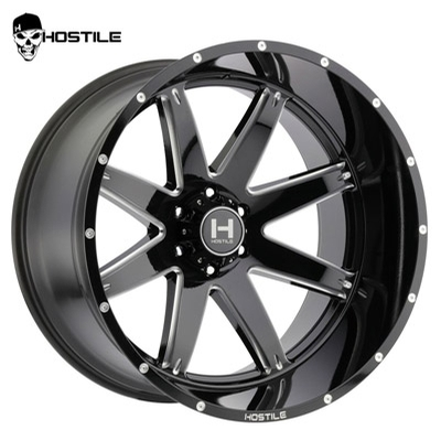 Hostile H109 Alpha Blade Cut 6-Lug