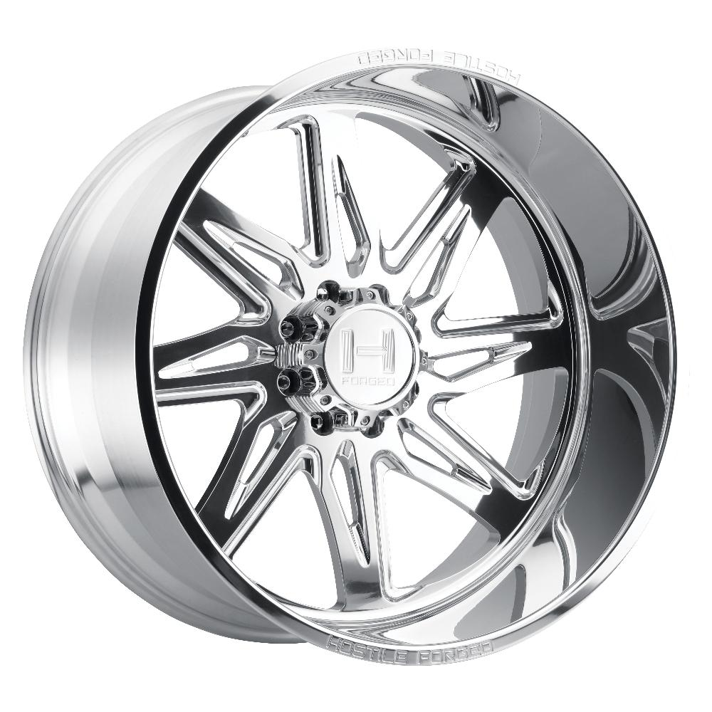 Hostile Forged HF07 Tomahawk Polished 8-Lug