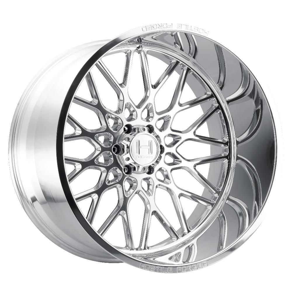 Hostile Forged HF08 Savage Polished 6-Lug