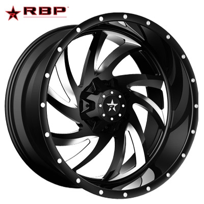 RBP RBP HK-5 1-PC Forged Monoblock Black Machined