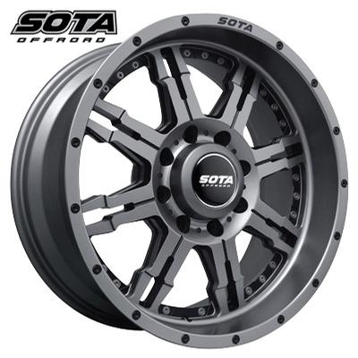 SOTA Offroad J.A.T.O. 8 Anthrakote Black