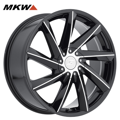 MKW M115 Gloss Blk/Machined