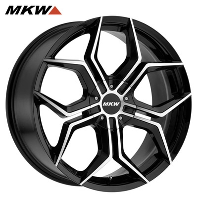 MKW M121 Gloss Black Machined