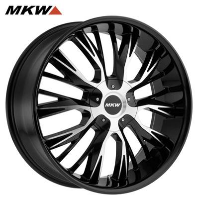 MKW M122 Gloss Black Machined