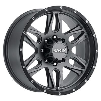 MKW Offroad M201 Grey w/Black Lip