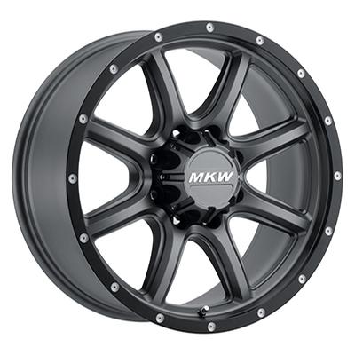 MKW Offroad M202 Grey w/Black Lip