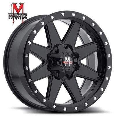 OFFROAD MONSTER M88 Flat Black