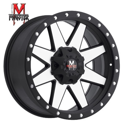 OFFROAD MONSTER M88 Machined Flat Black