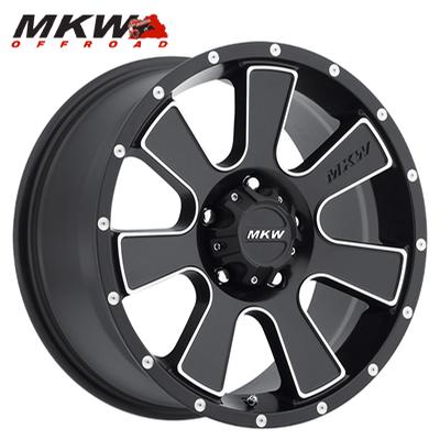 MKW Offroad M90 Satin Blk w/Machined