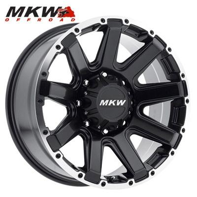 MKW Offroad M94 Satin Blk w/Machined