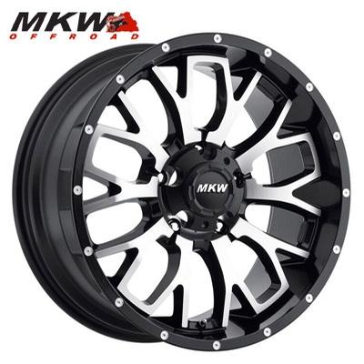 MKW Offroad M95 Machined w/Satin Blk
