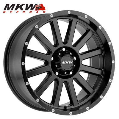 MKW Offroad M96 Satin Black