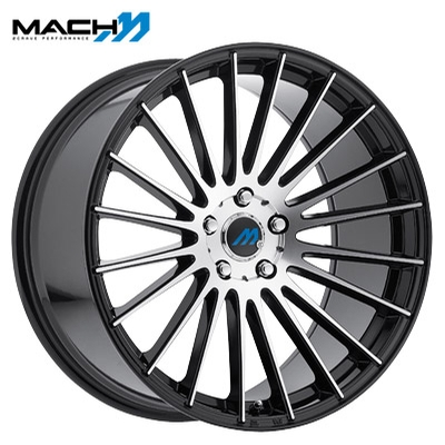 Mach Mach 18 Machined Gloss Blk