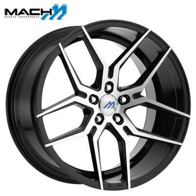 Mach Mach 04 Machined Gloss Black