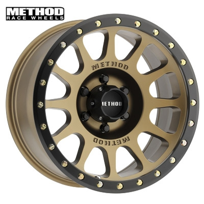 Method Race MR305 NV Bronze w/Black Lip