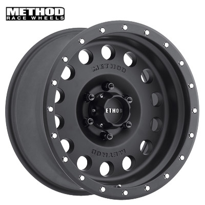 Method Race MR307 Hole Matte Blk