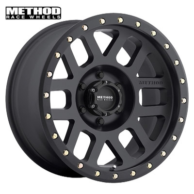 Method Race MR309 Grid Matte Black