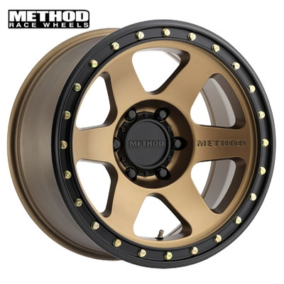 Method Race MR310 Con 6 Bronze w/Black Lip Edge