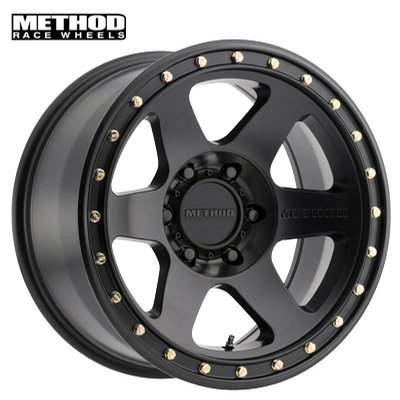 Method Race MR310 Con 6 Matte Black