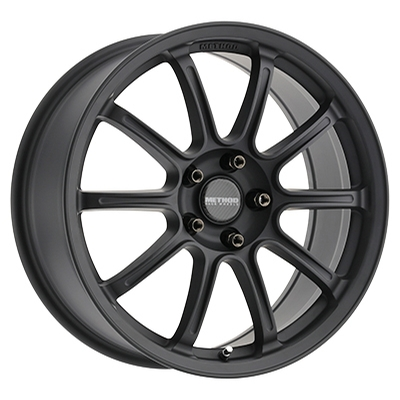 Method Race MR503 Rally Matte Black Flow Formed