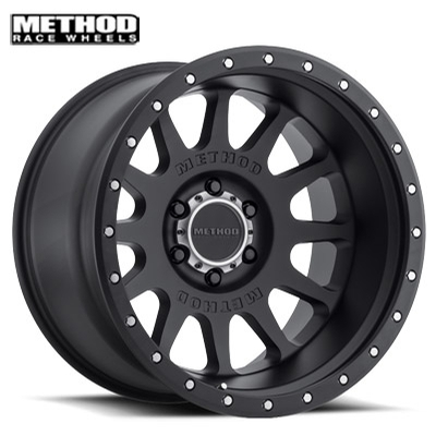 Method Race MR605 NV Matte Black