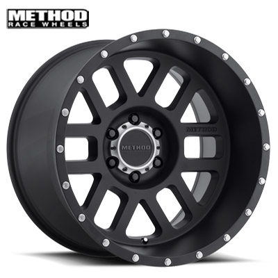 Method Race MR606 Mesh Matte Black
