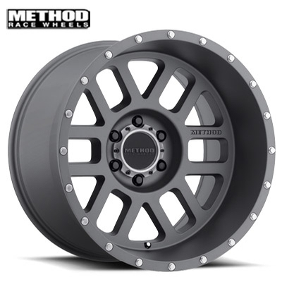 Method Race MR606 Mesh Titanium