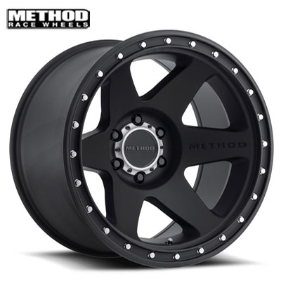 Method Race MR610 Con 6 Matte Black
