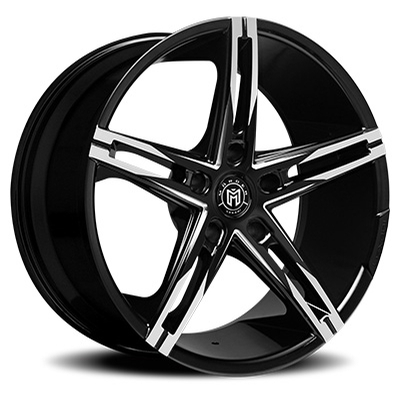 Morder Wheels MS-003 Gloss Black Machined