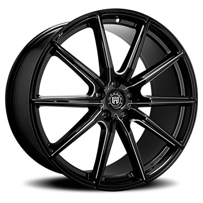 Morder Wheels MS-010 Gloss Black Milled