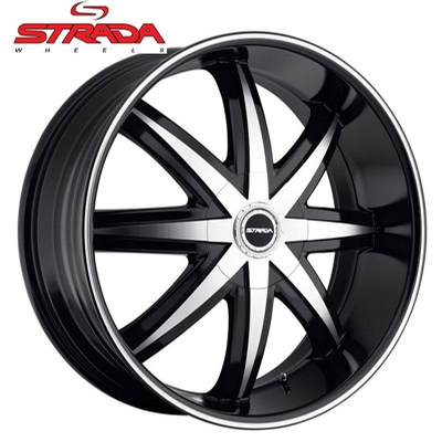 Strada Wheels Magia Gloss Black Machined