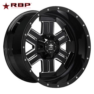 RBP RBP Magnum 1-PC Forged Monoblock Gloss Black Machined